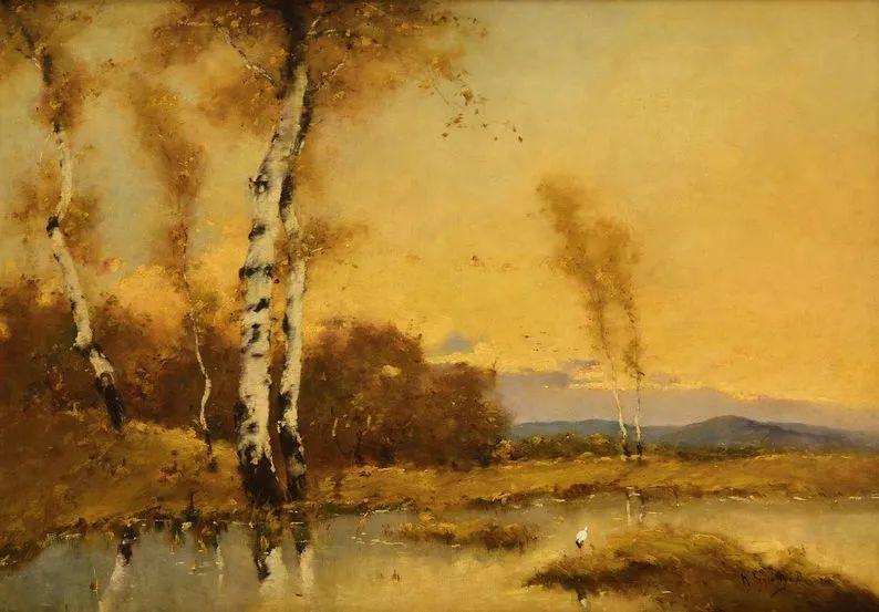 匈牙利杰出的自然风景画家——贝拉·斯潘依插图25
