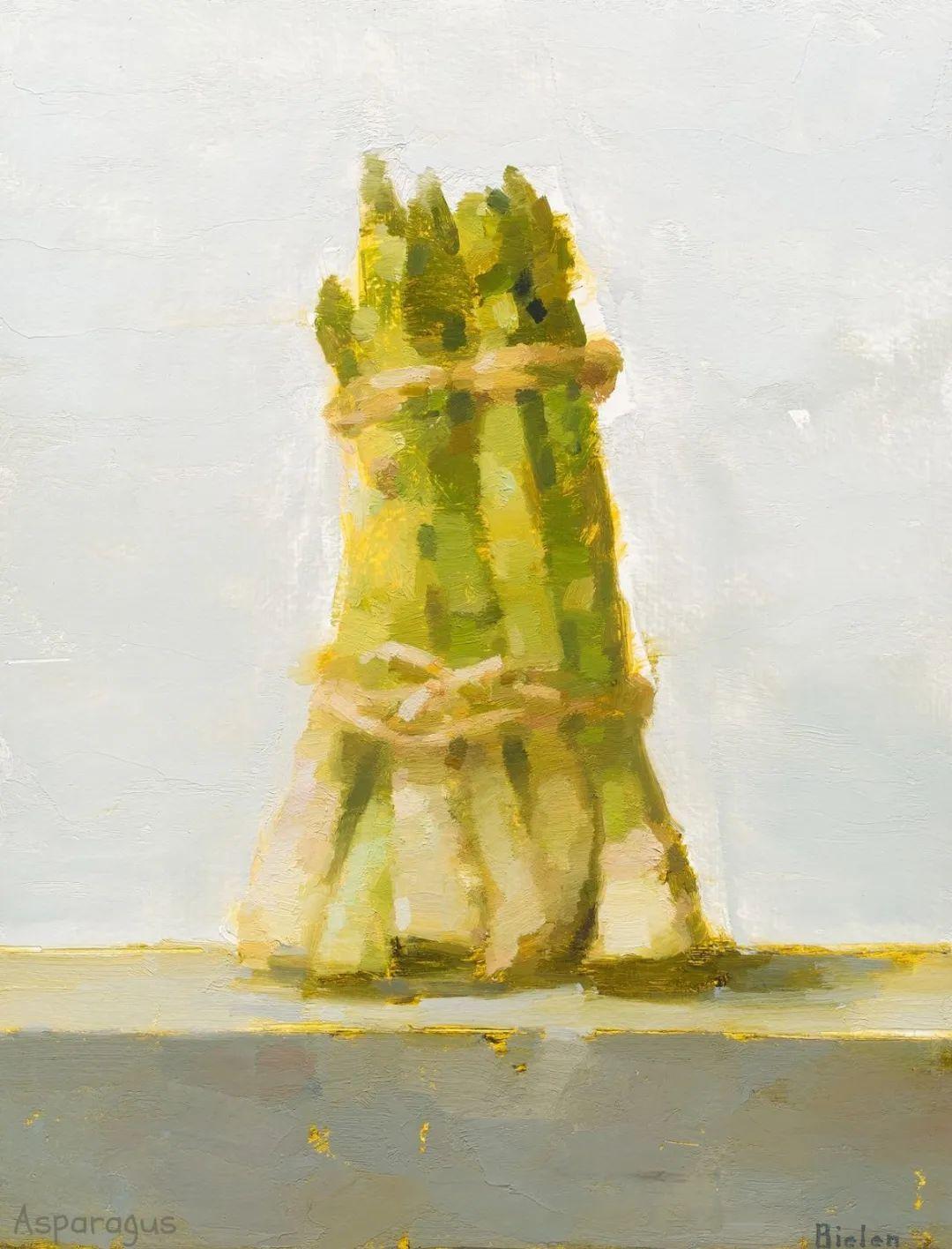 简约宁静 | 波兰画家斯坦利·比伦作品欣赏插图1