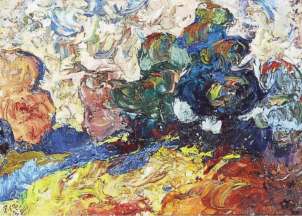 浓烈、明亮、斑斓、恣肆的色彩,这油画美极了插图111
