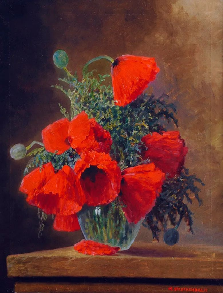 学医的他,37岁才开始自学绘画,笔下五颜六色的花束,太美了!插图19