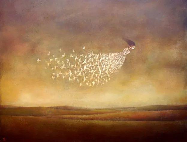 越南画家杜伊·怀恩的空灵绘画插图19