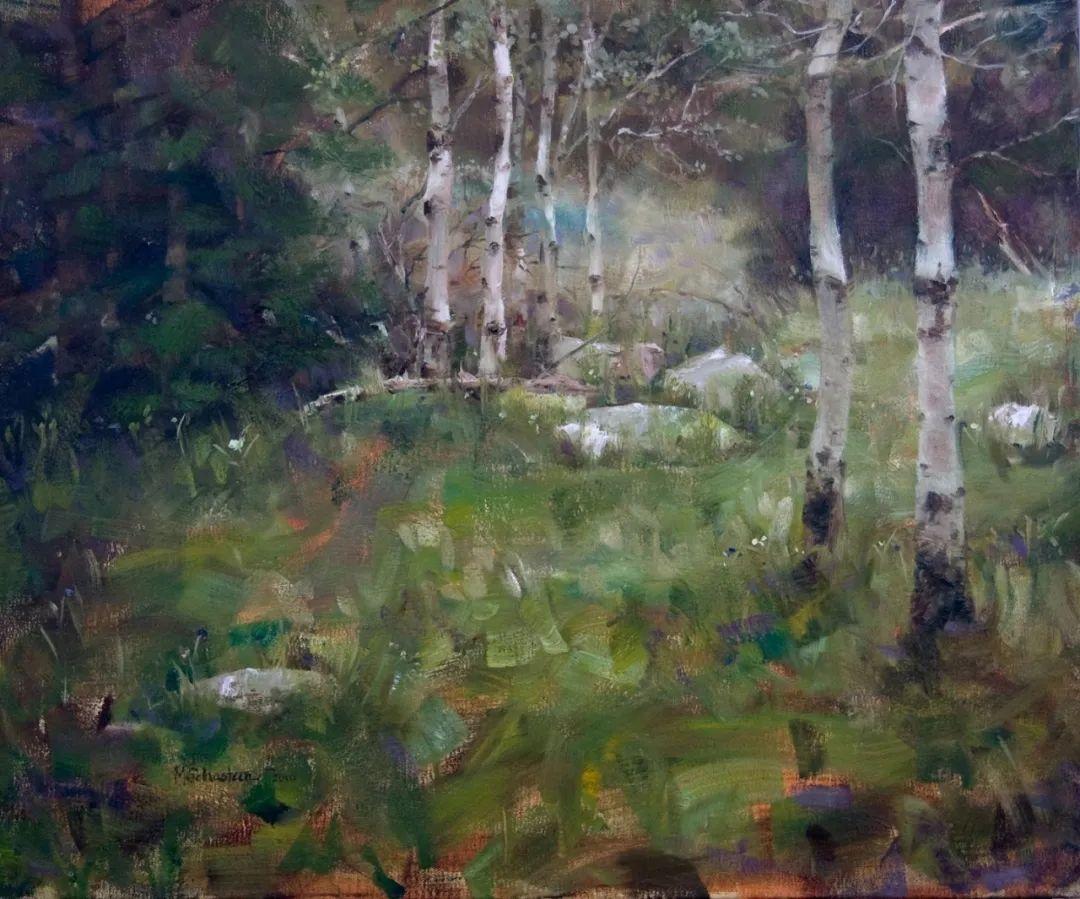 自学油画,她用真情描绘着周围的世界之美插图59