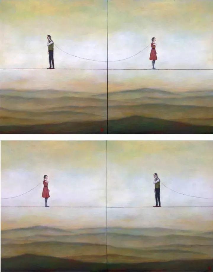 越南画家杜伊·怀恩的空灵绘画插图133