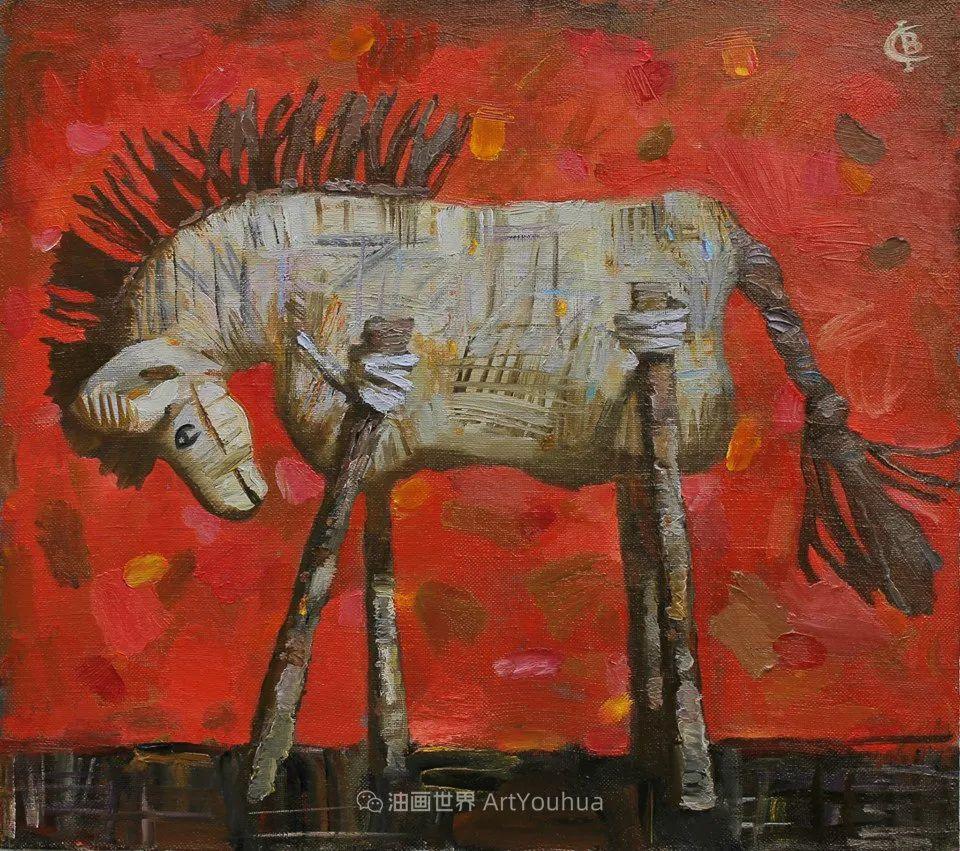 古典风格蛋彩画,俄罗斯画家弗拉基米尔·亚历山德罗维奇插图61
