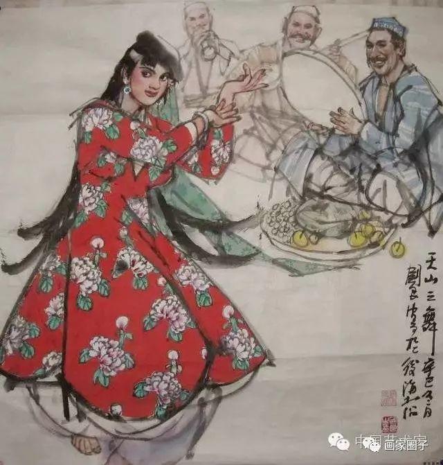 他不食人间烟火为画出家,妻子独守空房15年,画坛一代传奇插图65