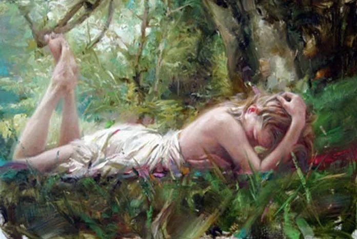 最富浪漫表现力的艺术家Vidan油画艺术作品插图45