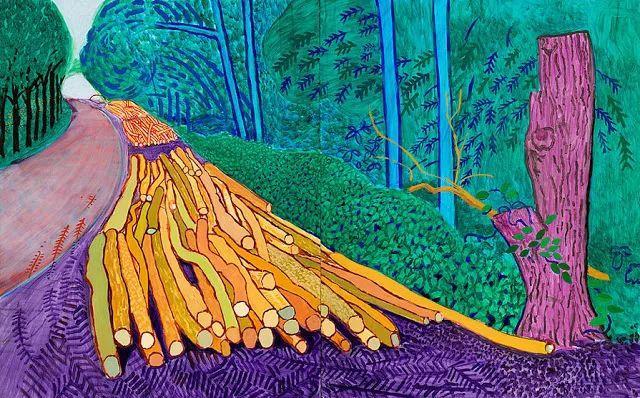 最著名的英国在世画家——大卫·霍克尼插图7