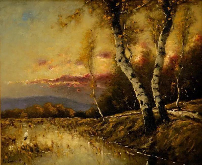 匈牙利杰出的自然风景画家——贝拉·斯潘依插图31