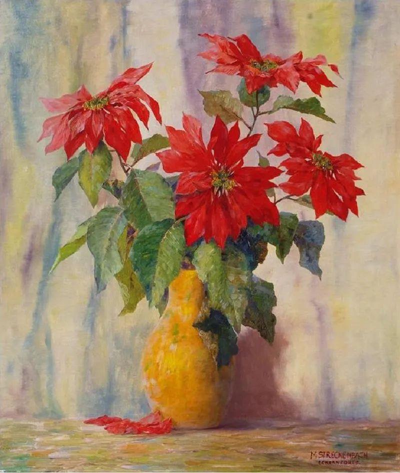学医的他,37岁才开始自学绘画,笔下五颜六色的花束,太美了!插图3
