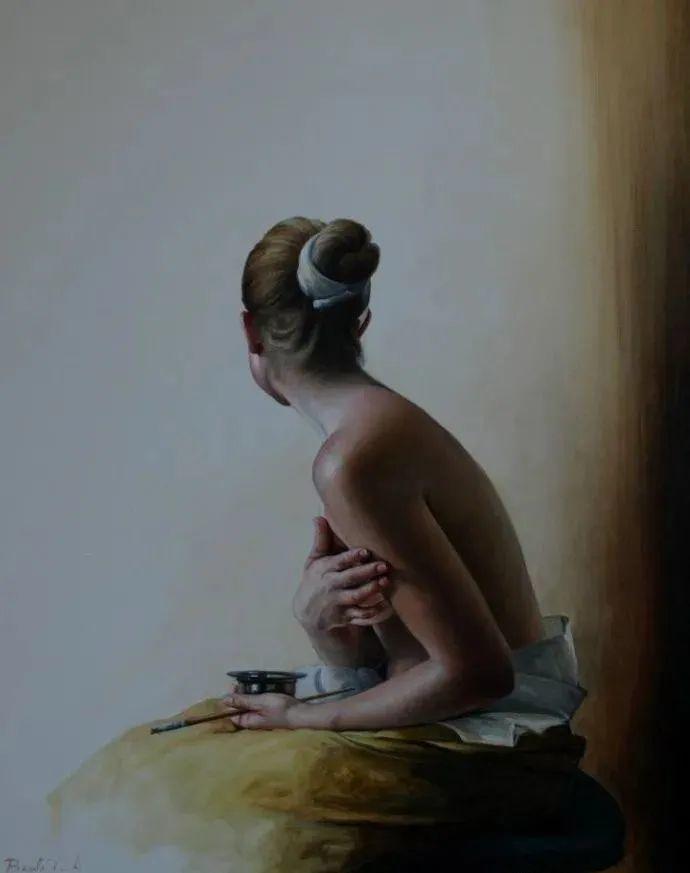秘鲁自学成才艺术家的写实油画,展现着油画人物不同的美插图21