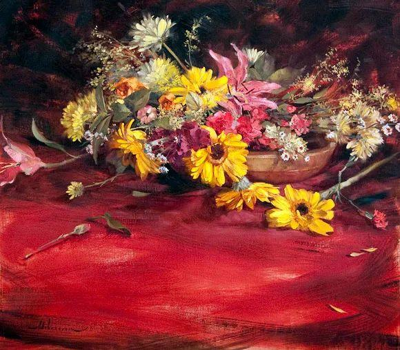 自学油画,她用真情描绘着周围的世界之美插图75