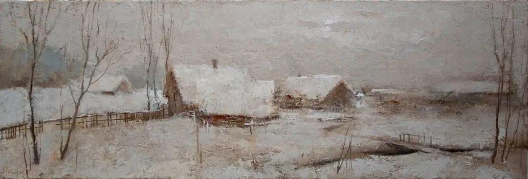 笔触率性,优雅朦胧的风景油画,迷人!插图57