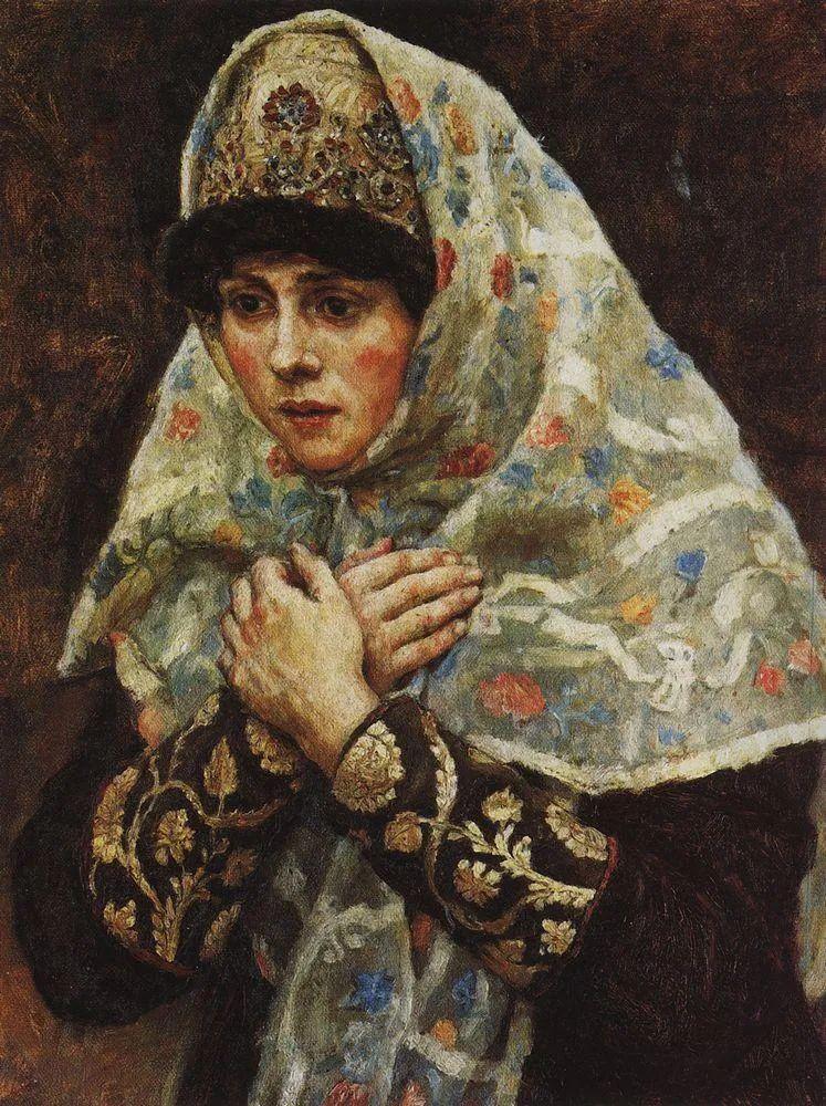 俄罗斯画坛先驱人物,瓦西里·苏里科夫人物作品选粹插图3