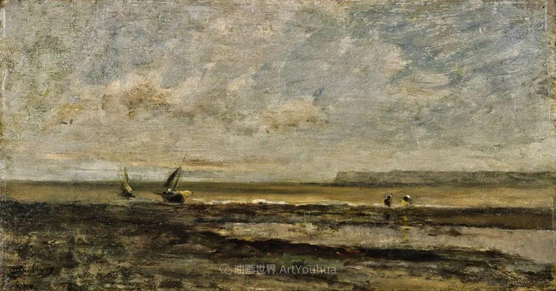 法国著名巴比松派风景画家——杜比尼插图123