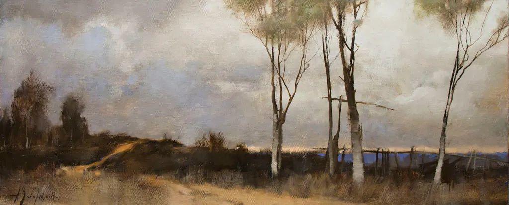 笔触率性,优雅朦胧的风景油画,迷人!插图83