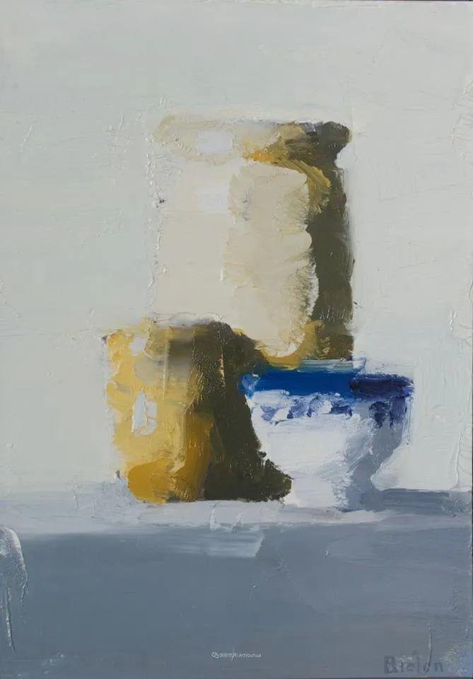 简约宁静 | 波兰画家斯坦利·比伦作品欣赏插图51