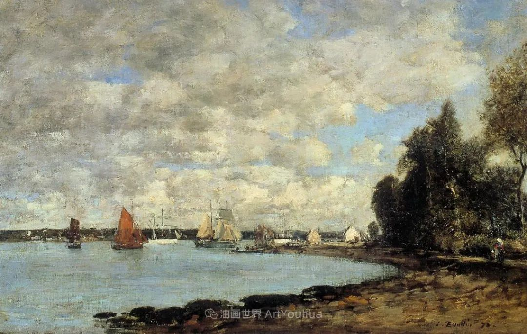法国最早印象派画家欧仁·布丹,曾教莫奈写生!插图172