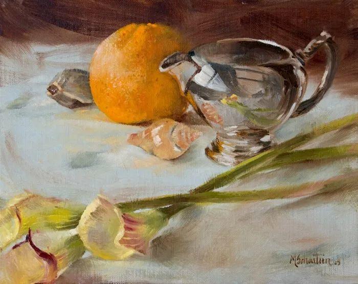 自学油画,她用真情描绘着周围的世界之美插图45