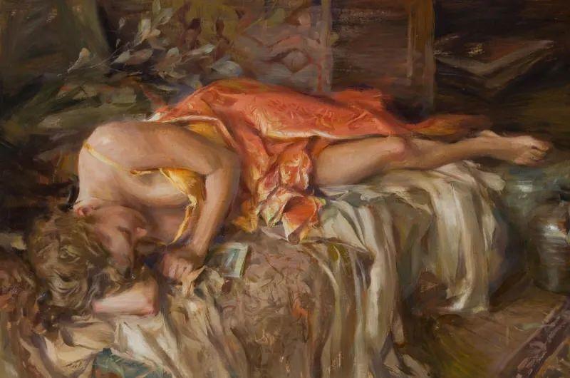 一个来自东方的画家,把印象派绘画掌握和提高到,如此至善至美的境界!插图53