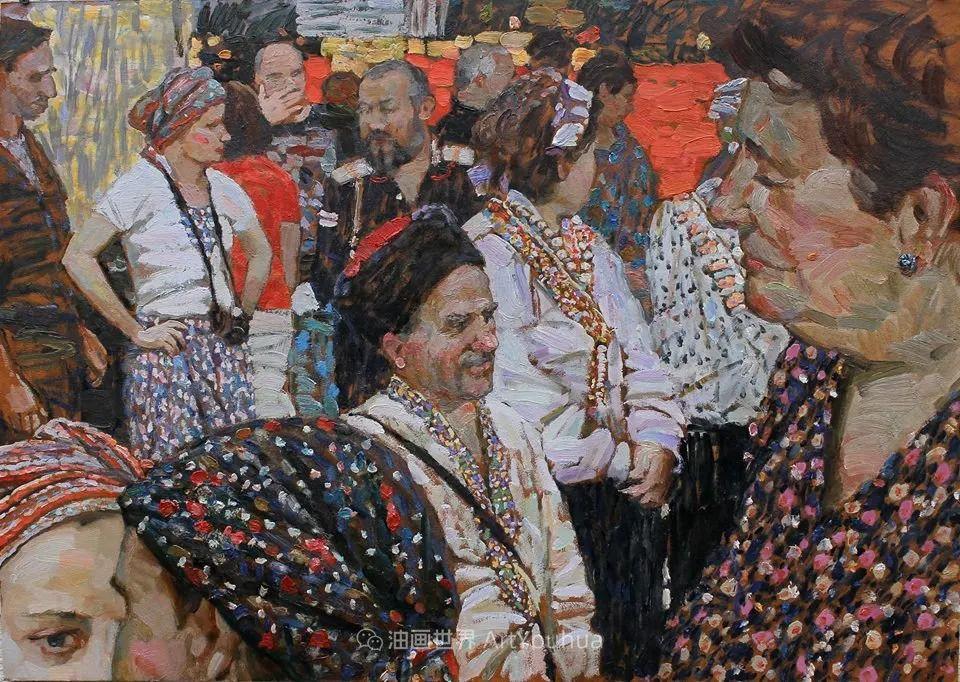 古典风格蛋彩画,俄罗斯画家弗拉基米尔·亚历山德罗维奇插图9