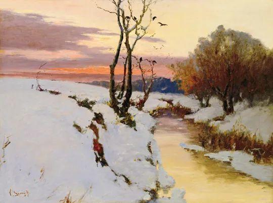 匈牙利杰出的自然风景画家——贝拉·斯潘依插图67