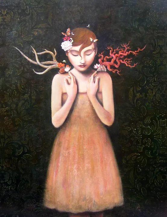 越南画家杜伊·怀恩的空灵绘画插图71