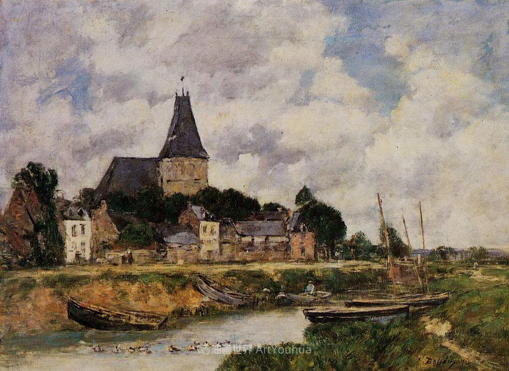 法国最早印象派画家欧仁·布丹,曾教莫奈写生!插图58