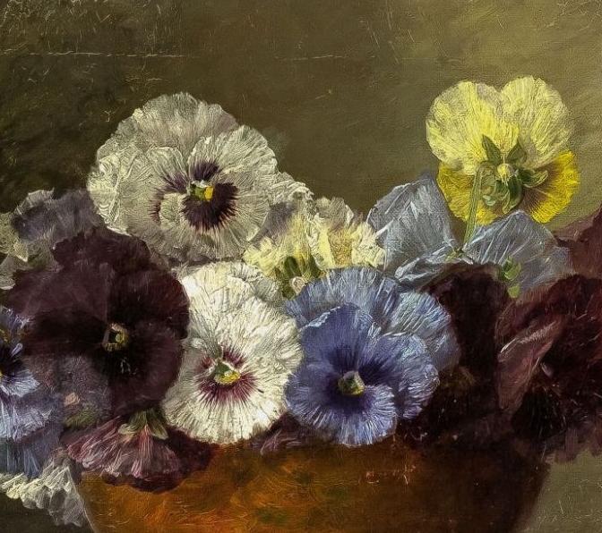 学医的他,37岁才开始自学绘画,笔下五颜六色的花束,太美了!插图33