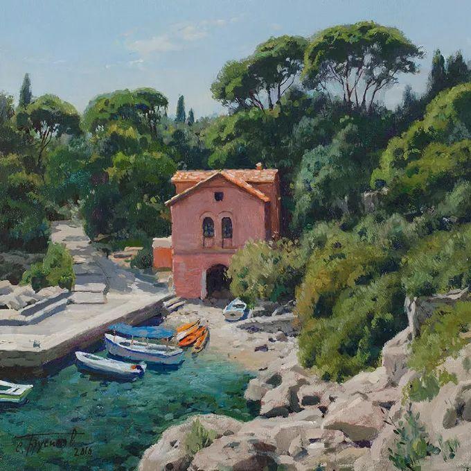 """岁月静好,俄罗斯"""" 小希施金 """" 的自然风景油画,美极了!插图117"""