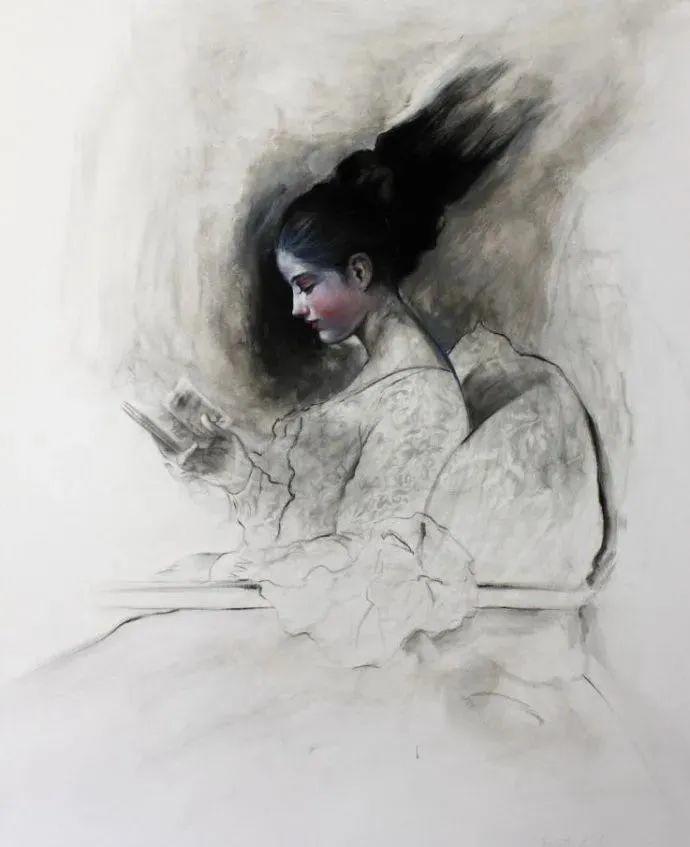 秘鲁自学成才艺术家的写实油画,展现着油画人物不同的美插图27