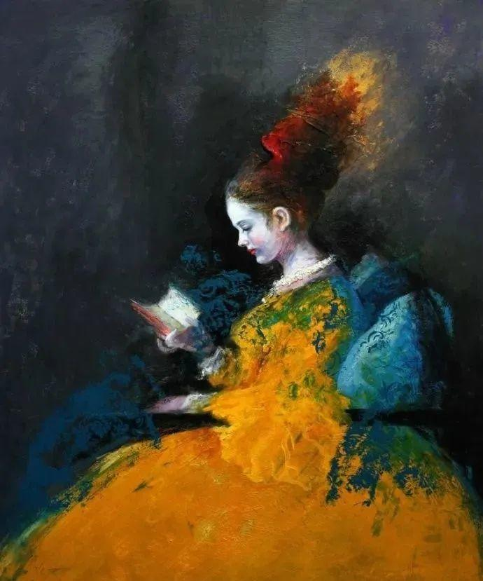 秘鲁自学成才艺术家的写实油画,展现着油画人物不同的美插图1