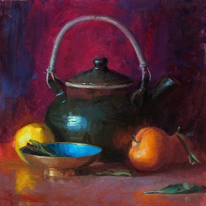 一个来自东方的画家,把印象派绘画掌握和提高到,如此至善至美的境界!插图41