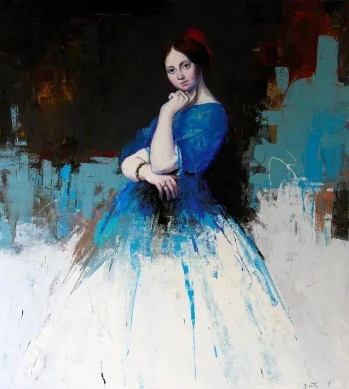 秘鲁自学成才艺术家的写实油画,展现着油画人物不同的美插图37