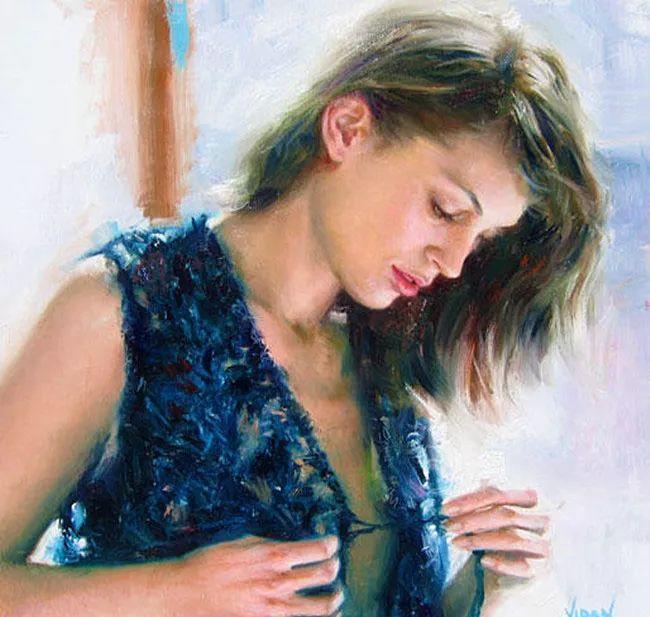 最富浪漫表现力的艺术家Vidan油画艺术作品插图33