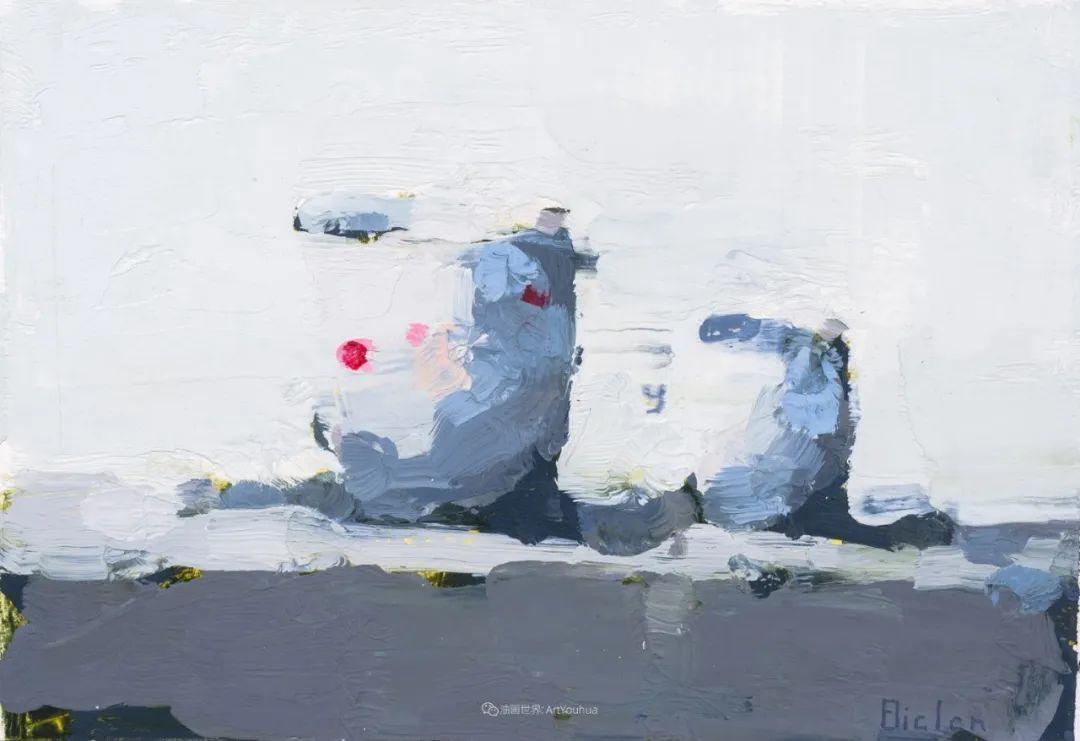 简约宁静 | 波兰画家斯坦利·比伦作品欣赏插图59