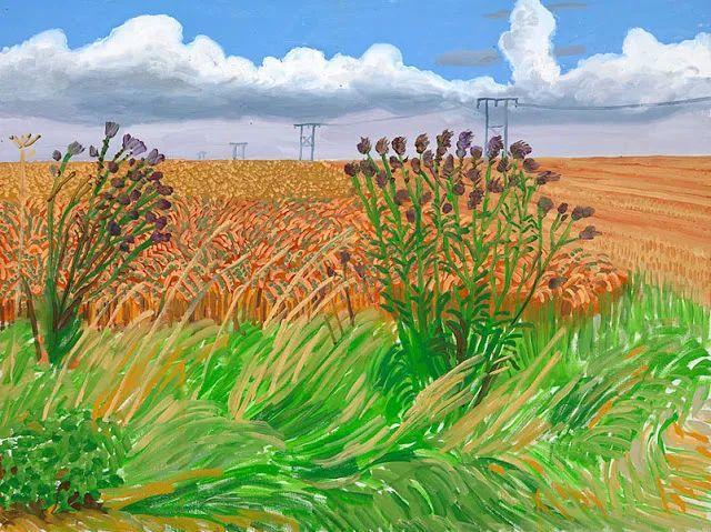 最著名的英国在世画家——大卫·霍克尼插图3