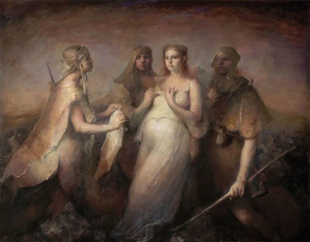 古典的技法,阴暗的色彩,浓厚的画面感插图21