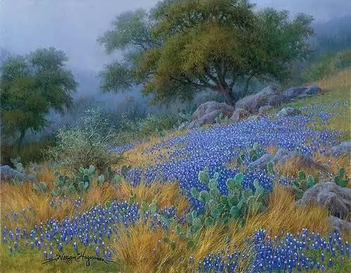 风景油画|细腻温暖插图1
