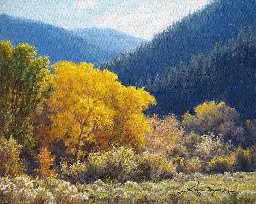 风景油画|细腻温暖插图2