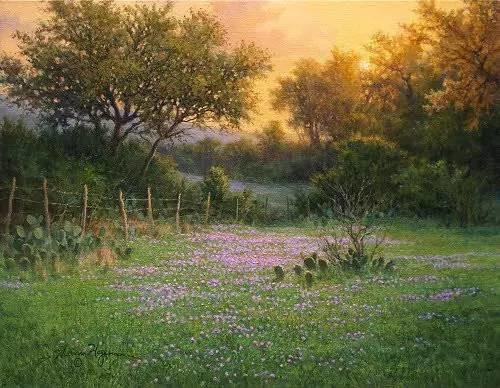 风景油画|细腻温暖插图3
