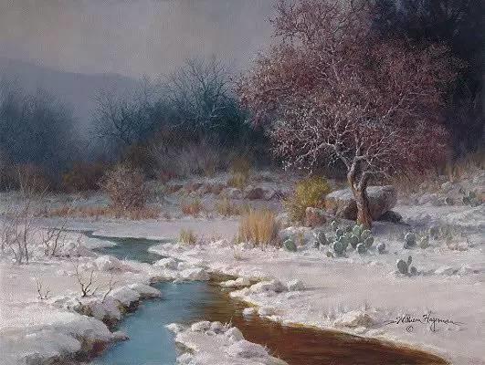 风景油画|细腻温暖插图6