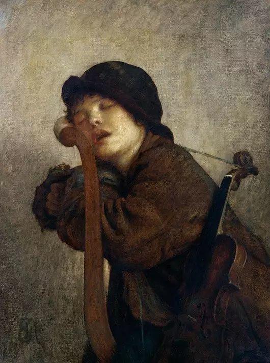 最美的古典油画人物插图29