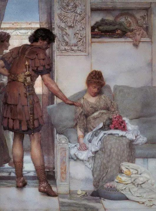 最美的古典油画人物插图37