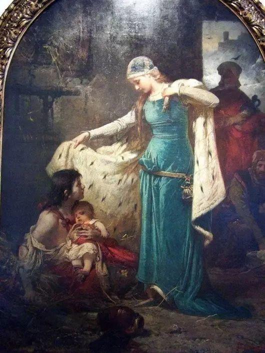 最美的古典油画人物插图41