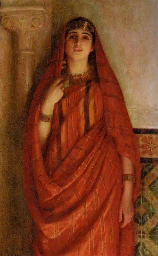 最美的古典油画人物插图45