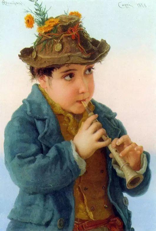 最美的古典油画人物插图47