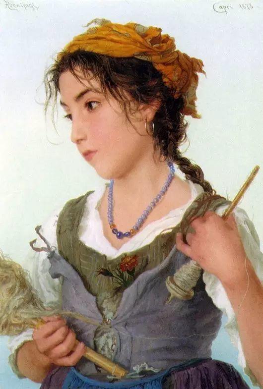 最美的古典油画人物插图53