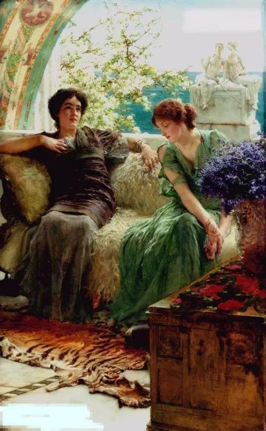 最美的古典油画人物插图55