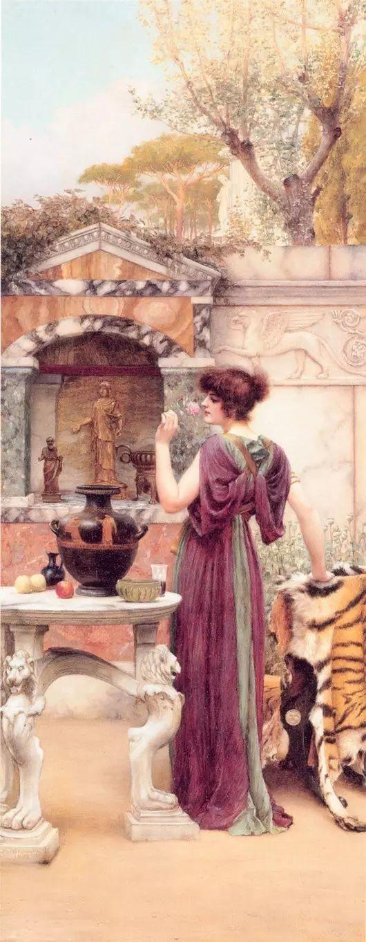 最美的古典油画人物插图63
