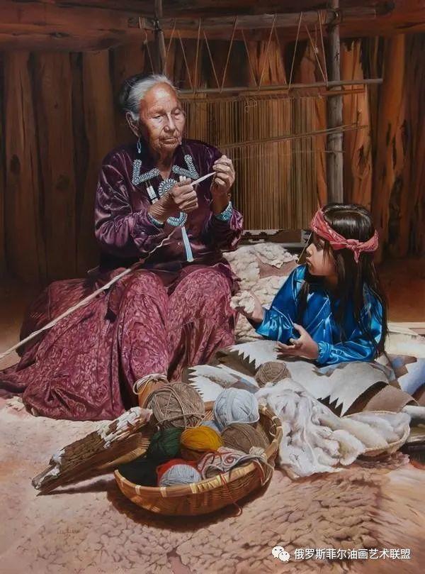 美国画家   李·奥尔本主题系列油画作品赏析插图5